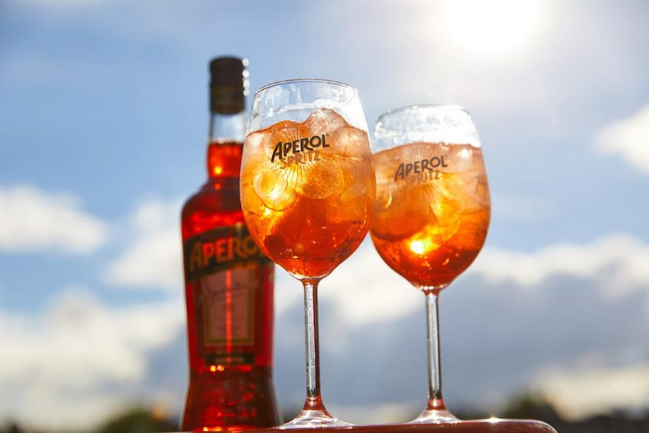 Aperol Spirtz Cocktail